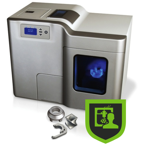 Digital files protected by Identify3D can only be manufactured with an authenticated machine. Image via Identify3D.
