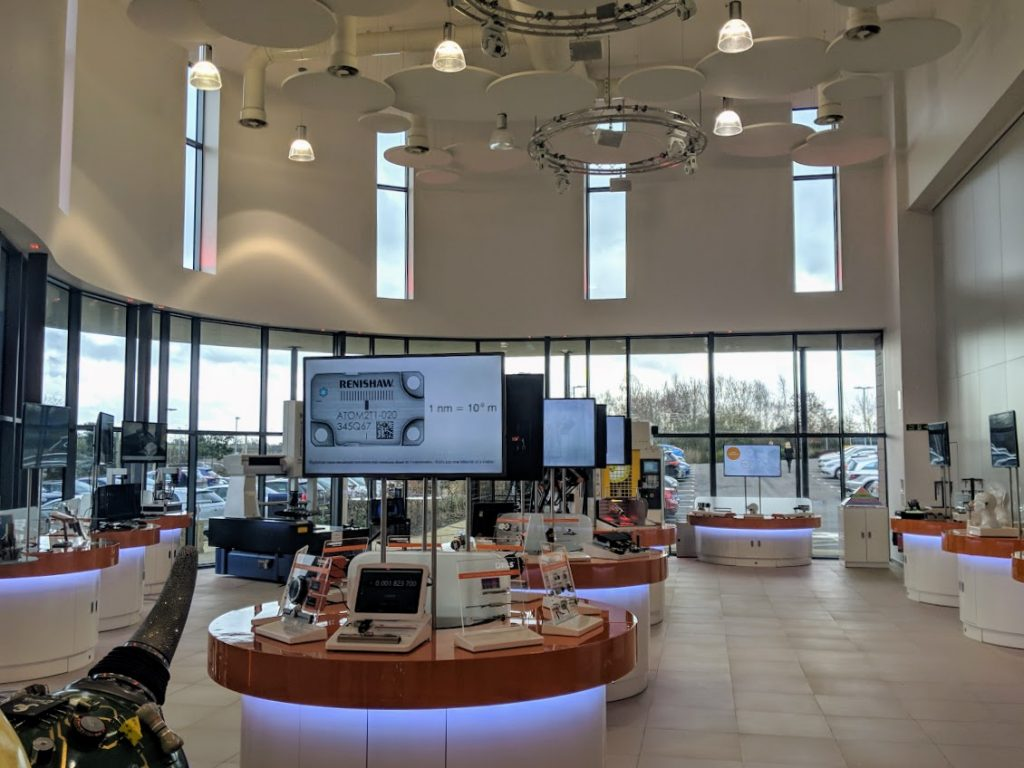 Inside the Renishaw Innovation Centre. Photo by Michael Petch.
