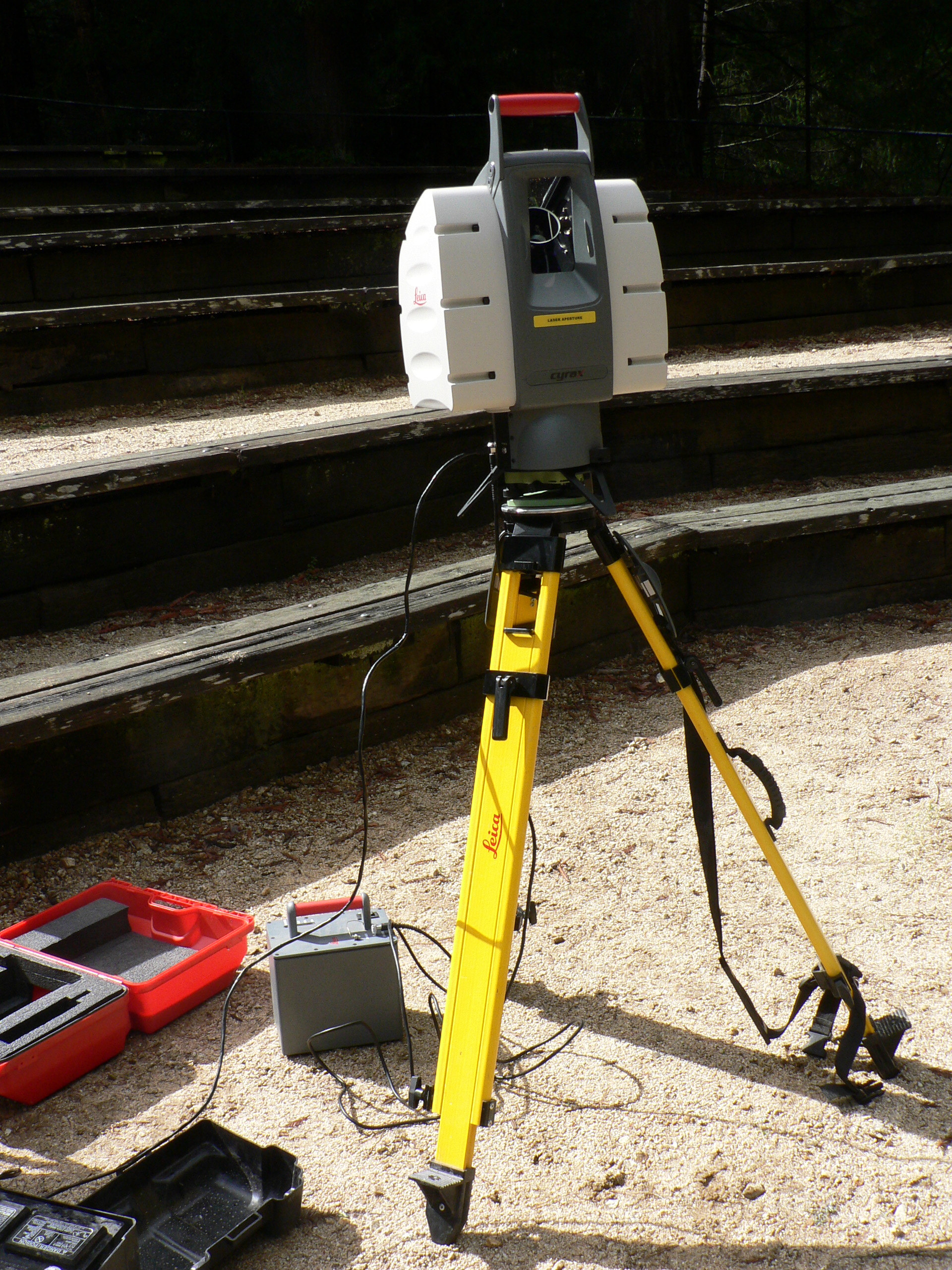 A conventional LiDAR used to scan buildings. Image via Wikimedia Commons