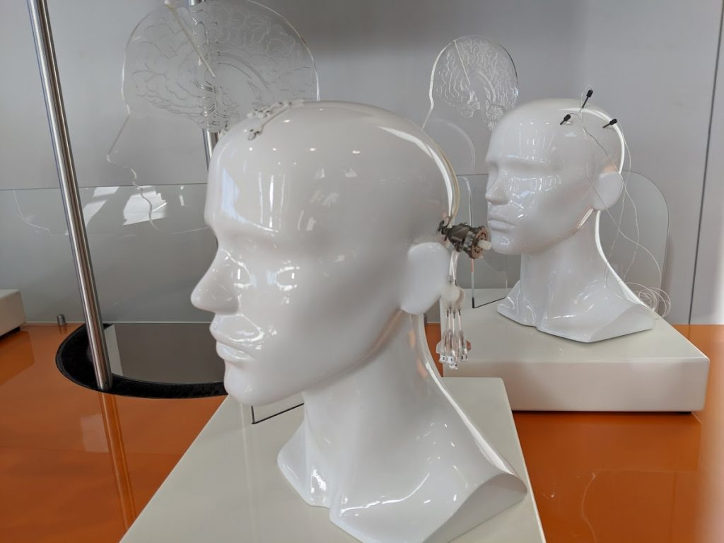 Renishaw Neuroinfuse Parkinson's treatment device. Photo by Michael Petch.
