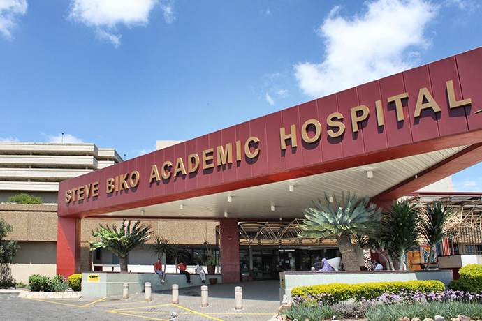 Steve Biko Academic Hospital, South Africa. Photo via Wikimedia Commons