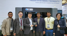 SAHAS Softech and Farsoon Technologies at TCT Asia 2019. Image via SAHA Softech.