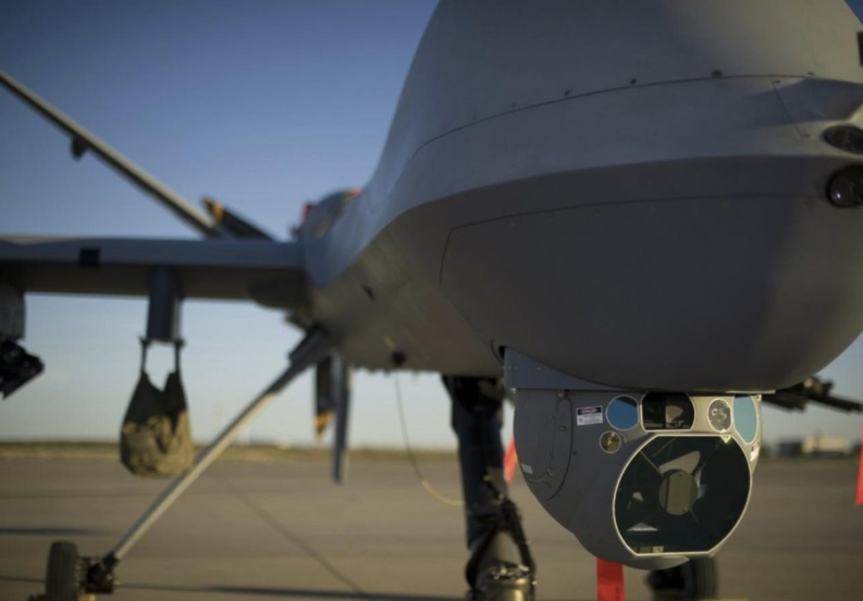 The General Atomics MQ-9 Reaper. Photo via Airman 1st Class Aaron Montoya/ GA-ASI.