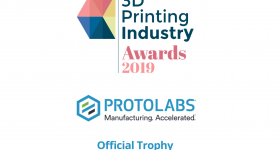 2019 3D Printing Industry Awards Trophy Design Challenge graphic