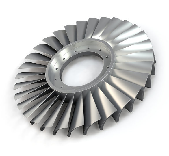 A metal part 3D printed by Sciaky. Image via Sciaky.