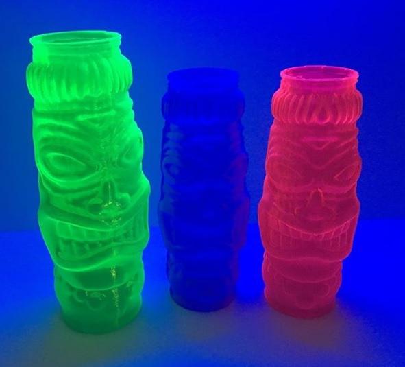 KVP's range of glow in the dark PETG filament. Photo via KVP.