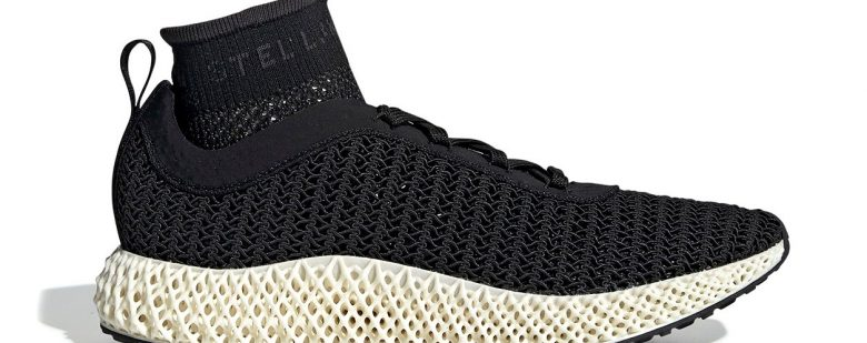 The Stella McCartney x adidas AlphaEdge 4D shoe. Photo via adidas.