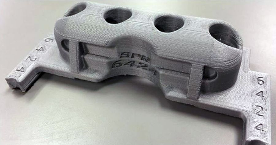 A 3D printed cover for the B-2 Spirit switches. Image via Knob Noster High School.