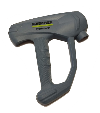 A prototype of Kärcher high pressure cleaning gun. Image via Stratasys.