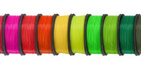 Keene Village Plastics 3D printing filaments. Image via Keene Village Plastics.