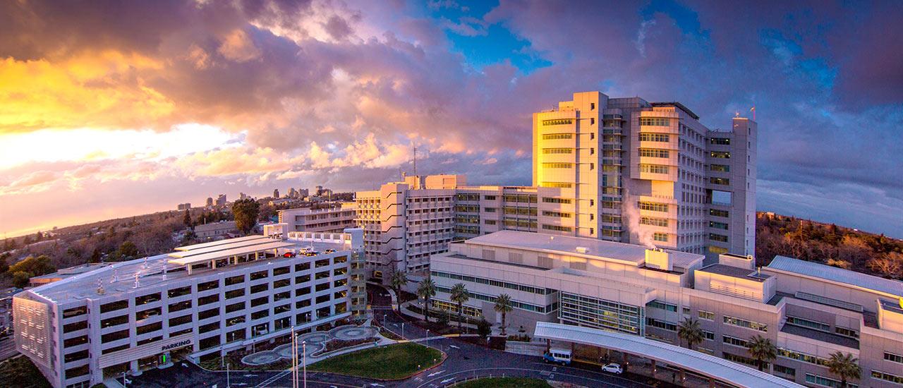 The UC Davis Health complex. Image via UC Davis.