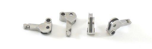3D printed metal parts. Photo via 3DEO Inc.