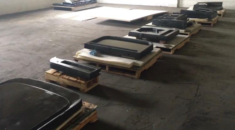 The vacuum forming tools used to produce the panels for the ExOne X1 25 Pro 3D printer. Image via Catalysis.