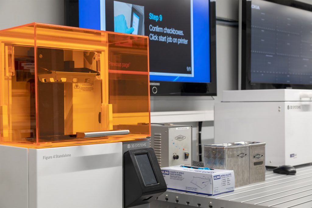 "Nokia has added 3D Systems' Figure 4 Standalone to its ""Factory in a Box"" mobile manufacturing solution – demonstrating how manufacturers can stay ahead of the demands of industry 4.0. Photo courtesy of Nokia"