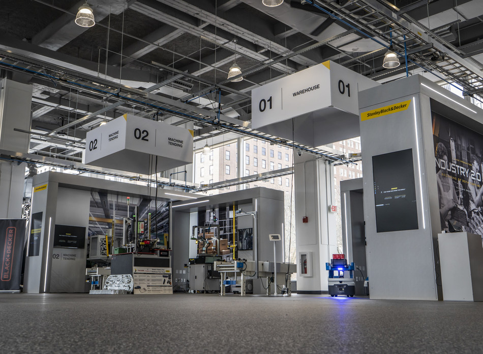 Stanley Black & Decker's Manufactory 4.0 based in Hartford, Conn. Photo via Stanley Black & Decker.