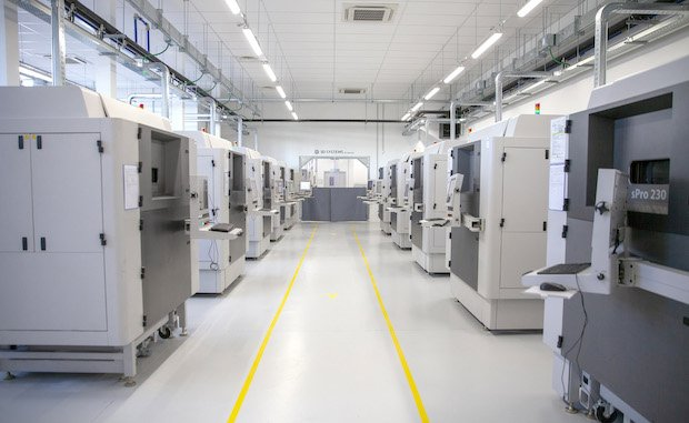 3D Systems opens Advanced Additive Manufacturing Center in Pinerolo, Italy. Photo via 3D Systems.