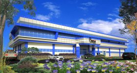 The proposed Additive Manufacturing Center building design. Image via DOST.