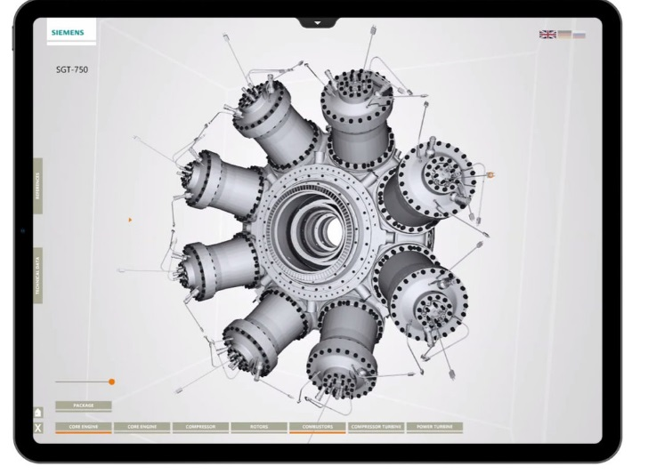 CAD visualization of metal components. Image via Interspectral.