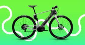The new Emery ONE eBike, features a durable 3D printed unibody bike frame. Image via AREVO.