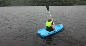 A fully functional kayak paddle made with upcycled material. Image via Elsevier.