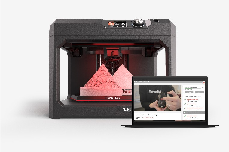 The MakerBot Certification Program for Students. Image via MakerBot.