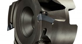 The Lightweight CoroMill 390 additive manufactured milling head. Image via Sandvik Coromant