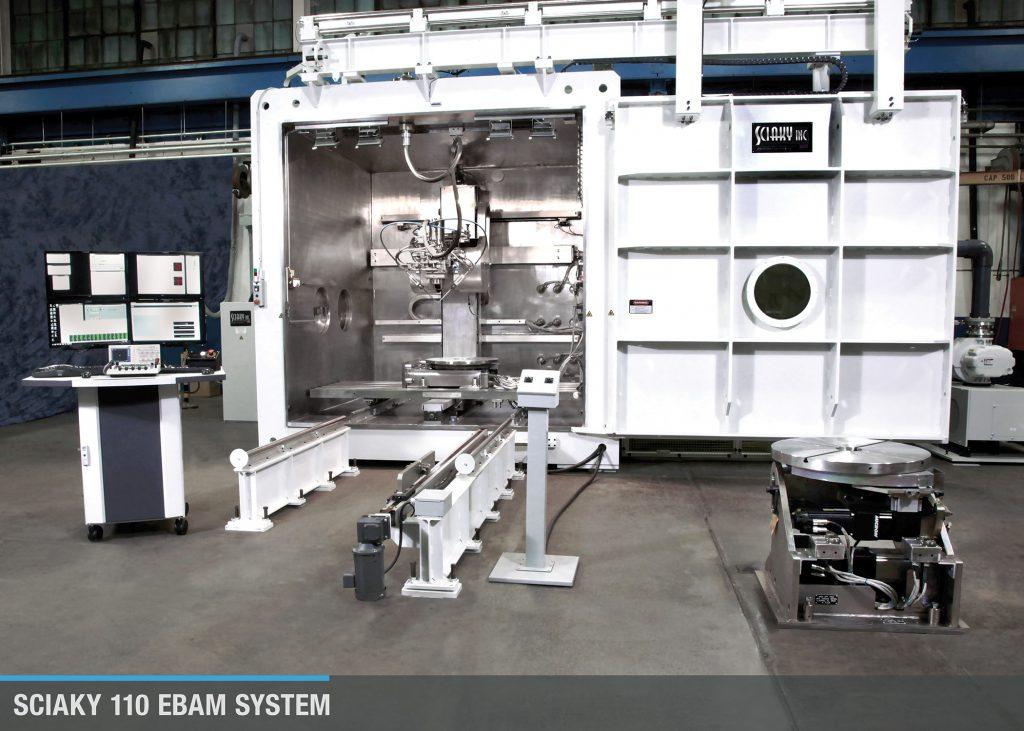 An EBAM®110 Metal 3D Printing System from Sciaky. Photo via Sciaky.