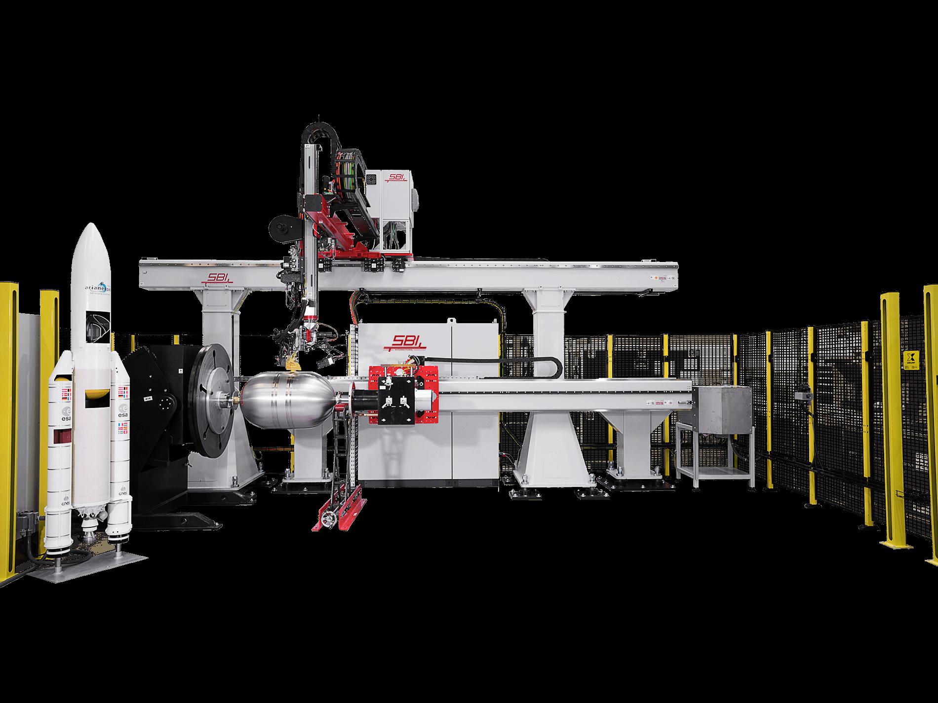 SBI's tank welding system. Image via SBI.