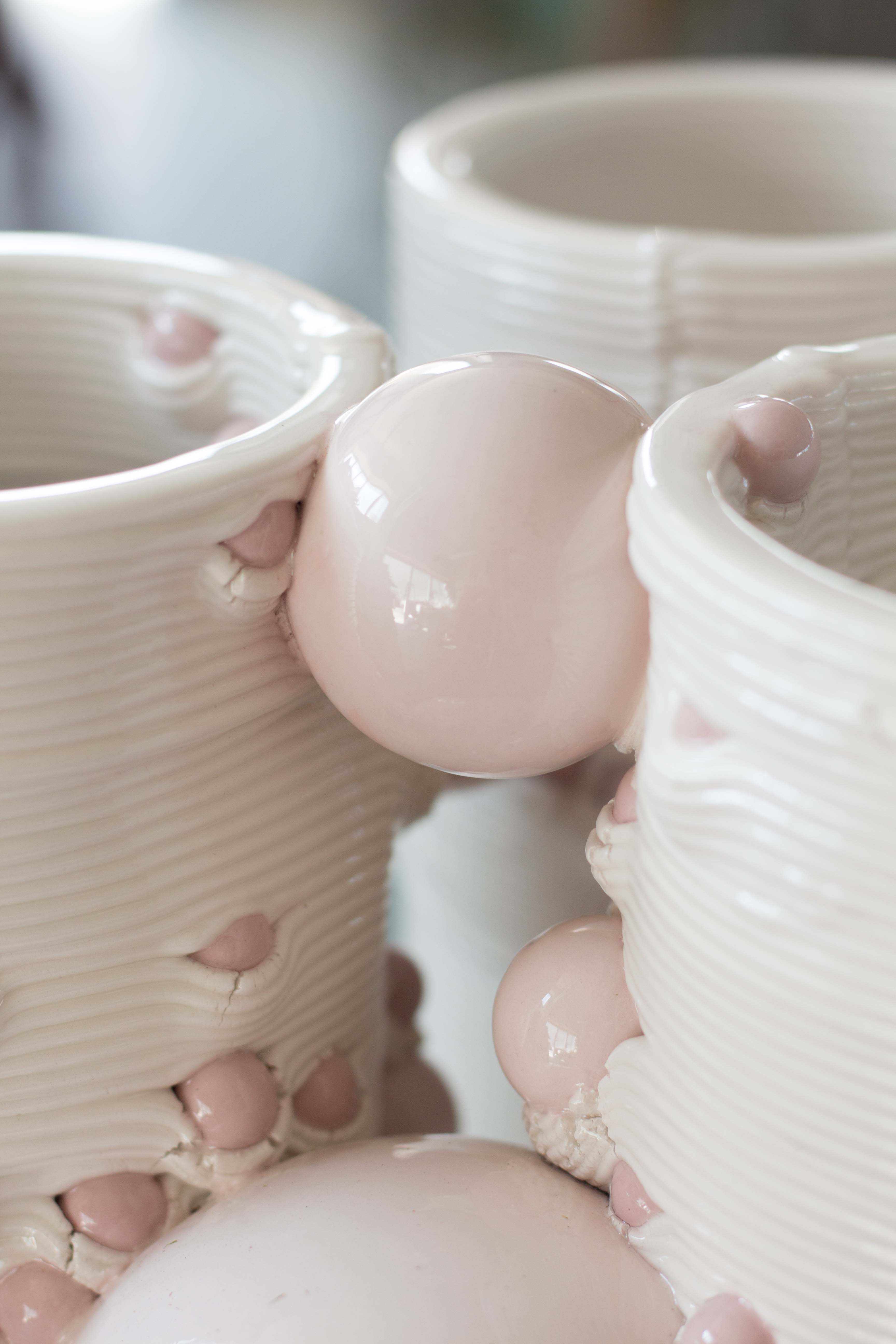 3D printed ikebana vases. Photo via WASP.