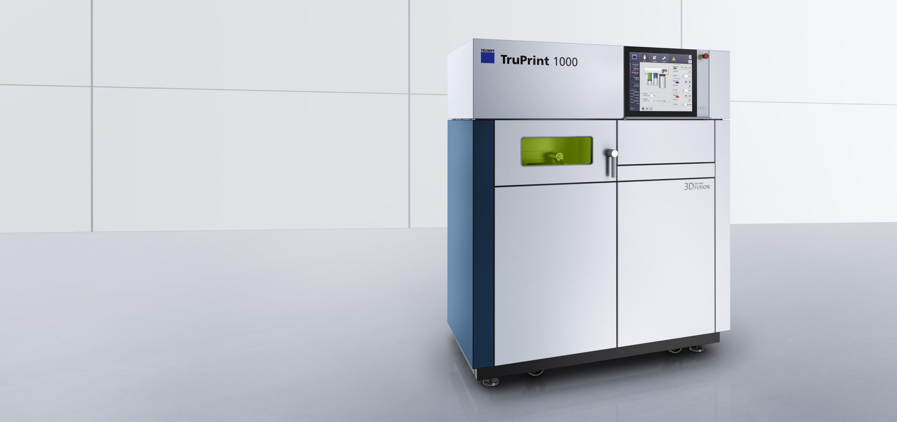 Trumpf TruPrint laser metal fusion machine. Image via Trumpf.