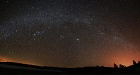 Stars viewed near Lowell Observatory's dark-sky site at Anderson Mesa. Photo by Jared Stern via Lowell Observatory