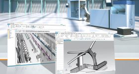 Siemens' platform used to developed the Next Generation Space frame 2.0. Image via Siemens.