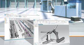 Siemens' platform used to developed the Next Generation Space frame 2.0. Image via Siemens.
