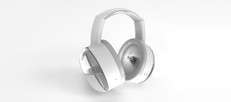 SafKan's OtoSet headphones. Photo via Protolabs.