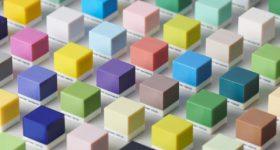Pantone color palette for Stratasys PolyJet printers. Image via Stratasys.