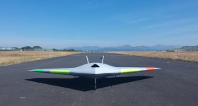 The MAGMA UAV ready-to-fly. Photo via BAE Systems