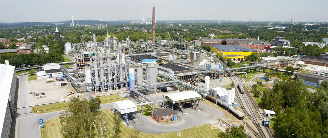 The Witten plant of Evonik. Image via Evonik.