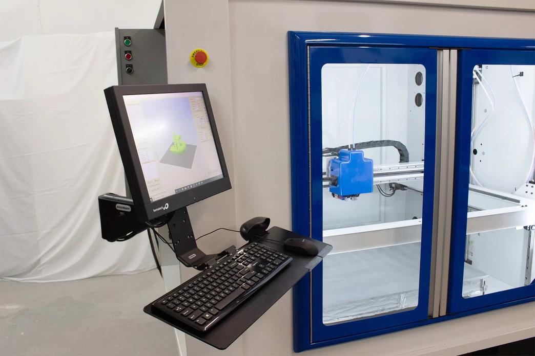 The RM 3D printer by Compound Dynamics. Image via Compound Dynamics.
