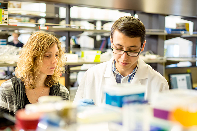 Kelly Steven, a UW bioengineering assistant professor leading the research project. Image via University of Washington.