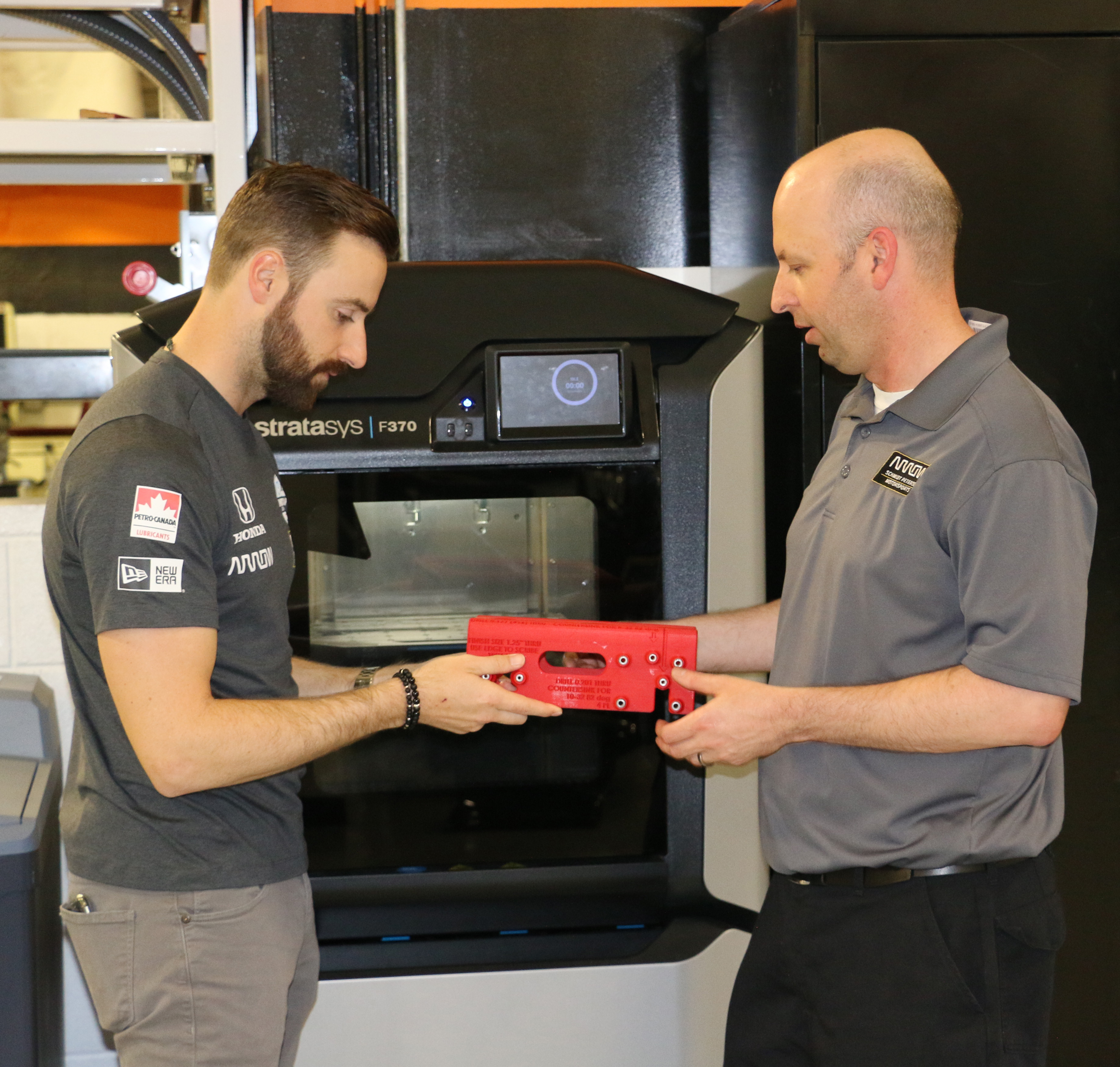 Arrow SPM is integrating Stratasys 3D printers into its manufacturing process. Photo via Stratasys.