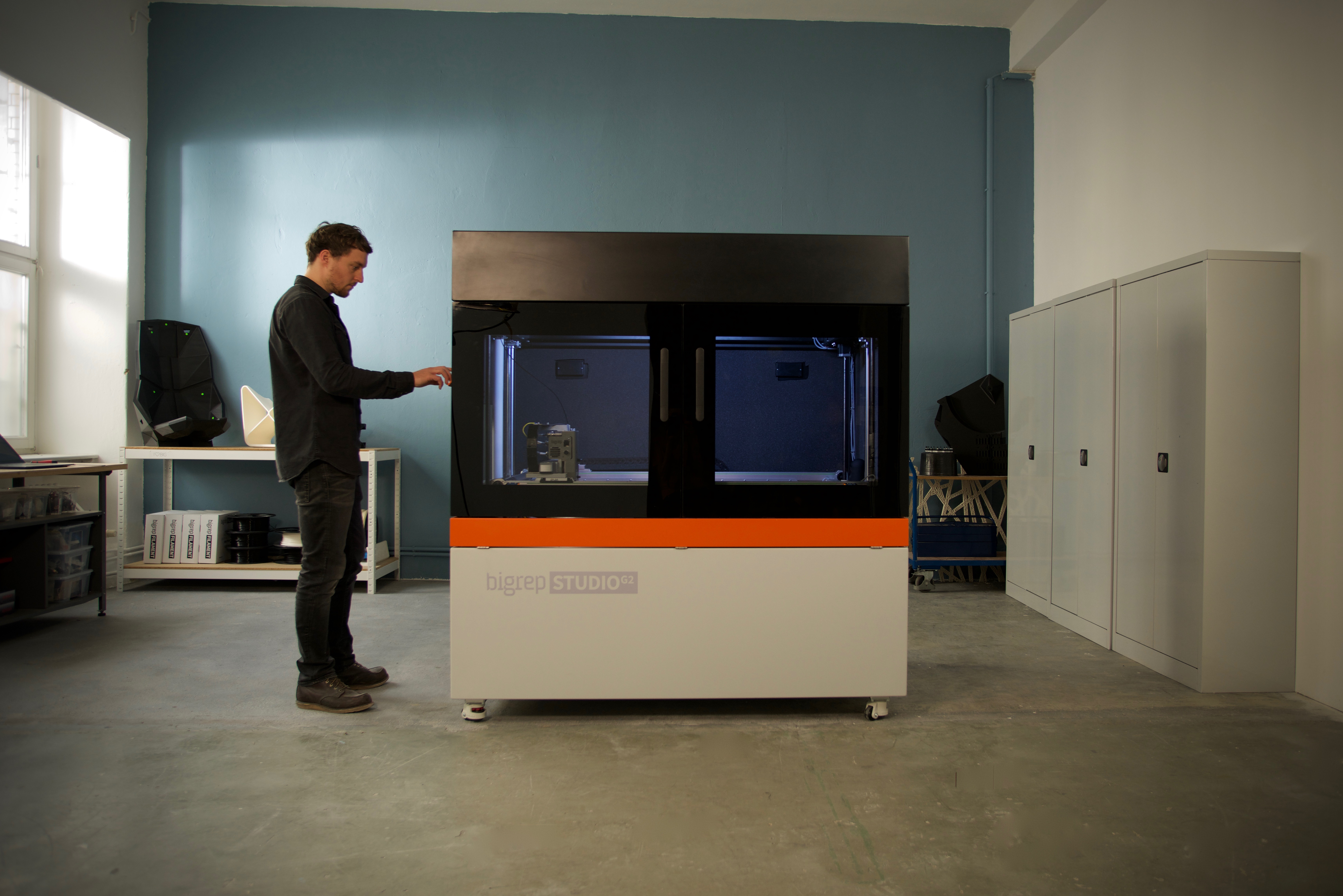 The BigRep STUDIO G2 3D printer.Photo via BigRep.