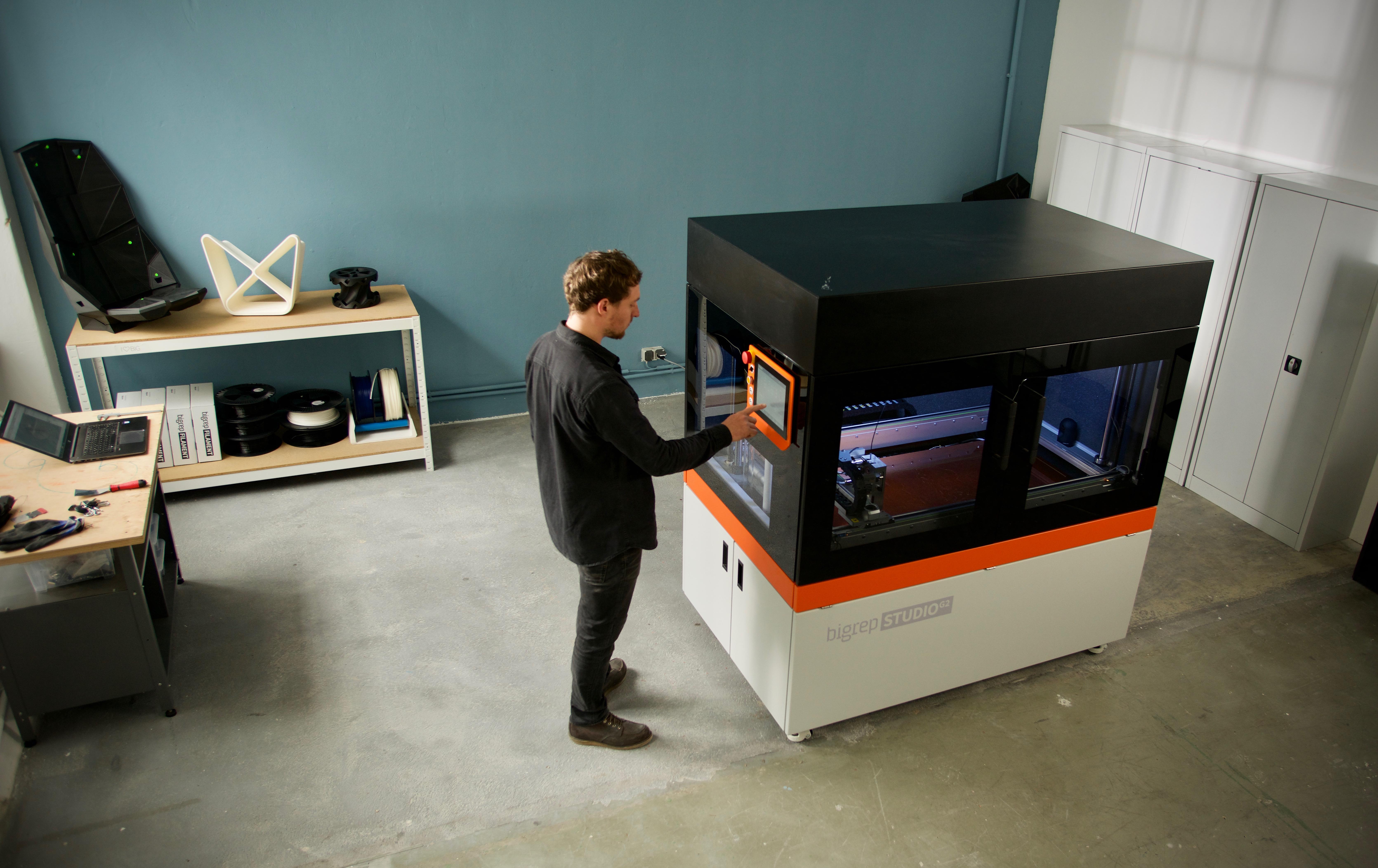 The BigRep STUDIO G2 3D printer. Photo via BigRep.