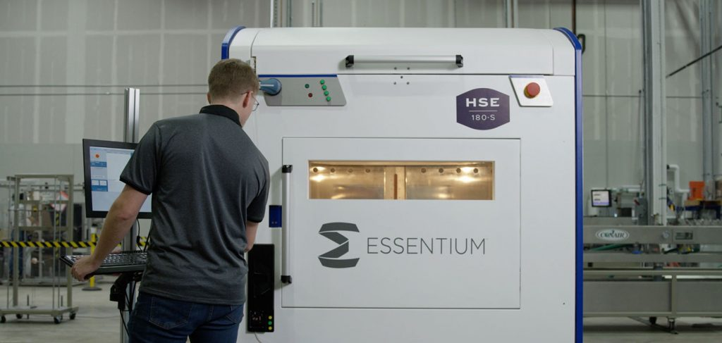 Essentium's High-Speed Extrusion (HSE) 3D printer. Photo via Essentium.
