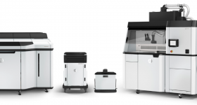 The HP Jet Fusion 5200 3D Printing Solution. Image via HP