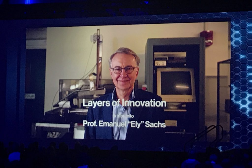 "Professor Emanuel ""Ely"" Sachs, co-founder and co-CTO of Desktop Metal."