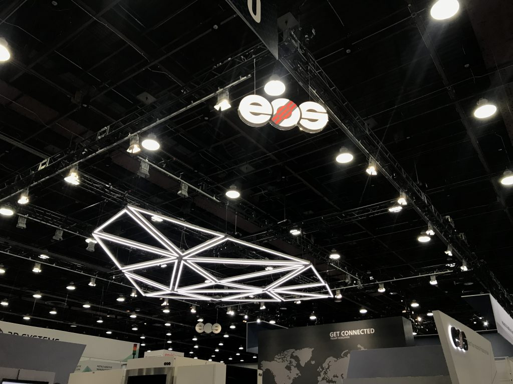 EOS at RAPID + TCT 2019. Photo by Beau Jackson