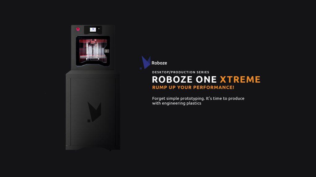 The ROBOZE One Xtreme 3D printer. Image via Roboze