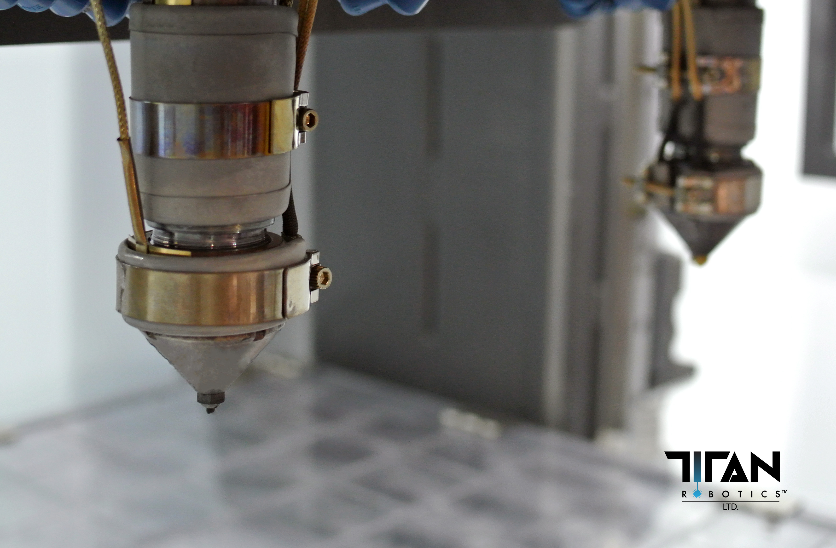 Dual Pellet Extrusion in the Atlas-H line. Photo via Titan Robotics