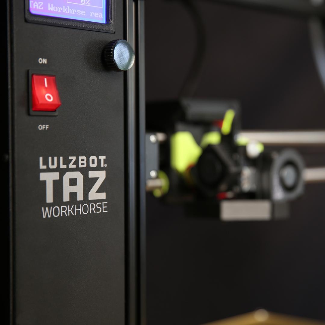 The Lulzbot TAZ Workhorse 3D printer - technical