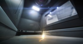 Metal additive manufacturing at GE. Photo via GE Research